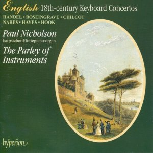[중고]  Paul Nicholson, The Parley Of Instruments / English 18th-century Keyboard Concertos (수입/cda66700)