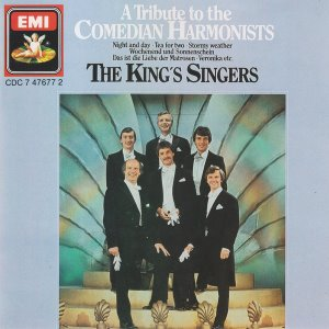 [중고] King's Singers / A Tribute To The Comedian Harmonists (수입/cdc7476772)