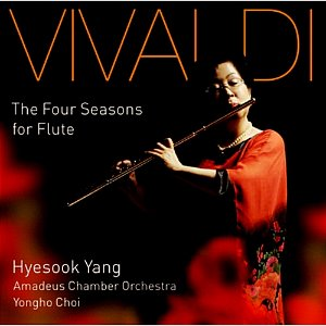 [중고] 양혜숙 / Vivaldi: The Four Seasons For Flute (vdcd6482)
