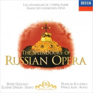 [중고] V.A. / The Splendours Of Russian Opera (수입/4582162)