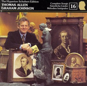 [중고] Thomas Allen,  Graham Johnson / The Hyperion Schubert Edition (수입/cdj33016)