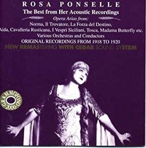 [중고] Rosa Ponselle / Best From Her Acoustic Recordings (수입/ab78576)