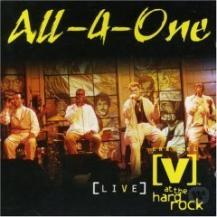 All-4-One / [V] Live at the Hard Rock (미개봉)